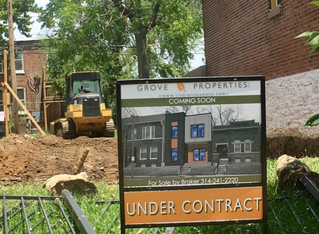 New Construction in The Grove