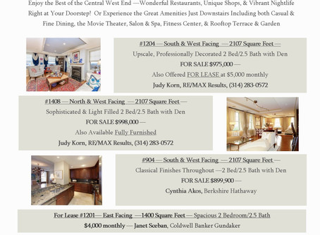 OPEN HOUSE - The Private Residences at the Chase Park Plaza
