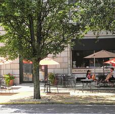 DeBalivere Place Sidewalk Cafe