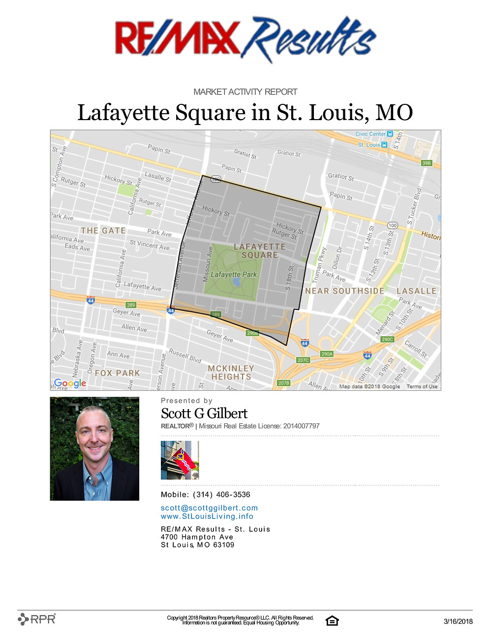 Market Activity Report | Lafayette Square | www.stlouisliving.info