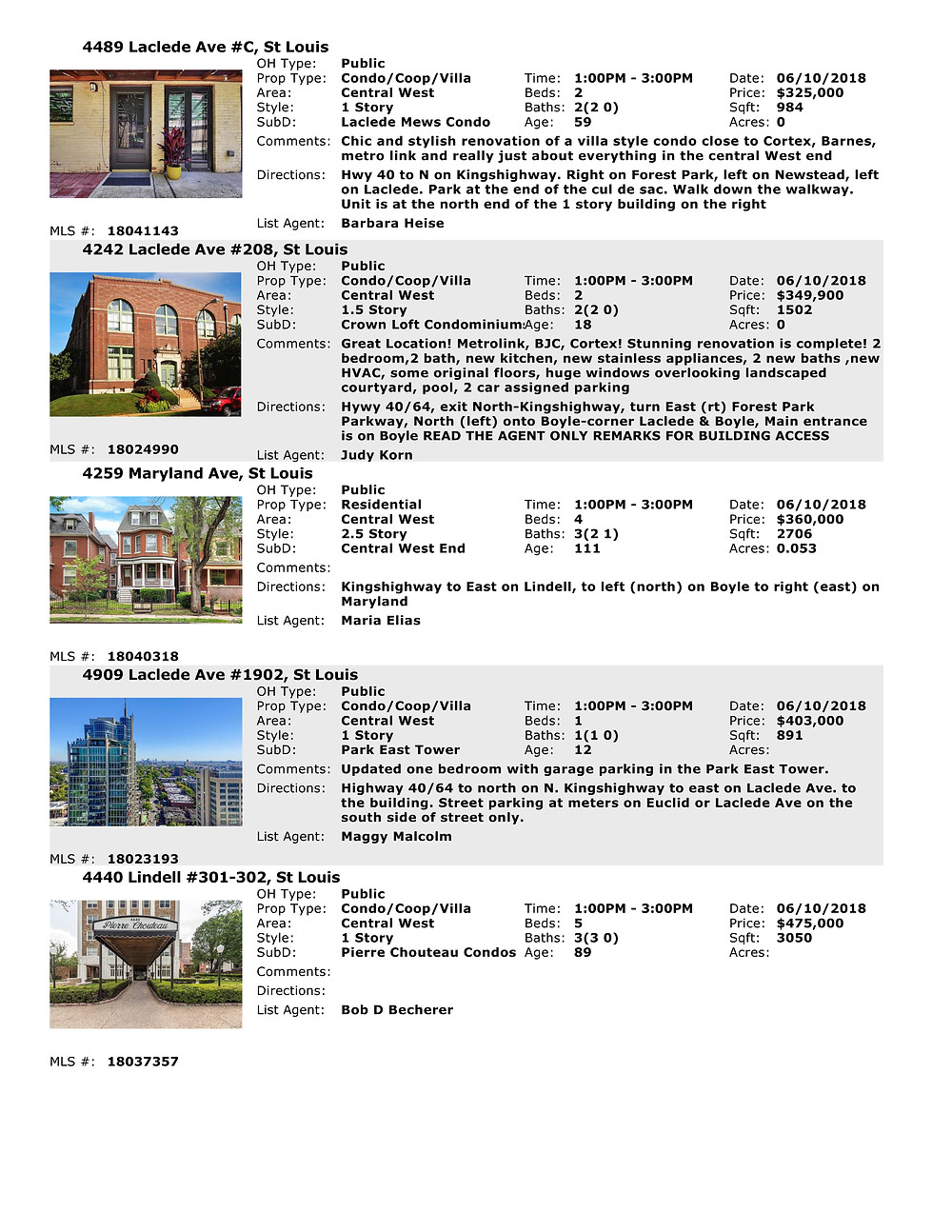 Central West End Open Houses | Crown Lofts