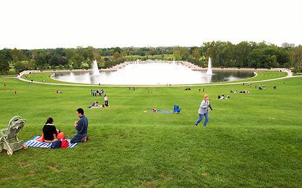 Forest Park | Art Hill | Grand Basin | St Louis