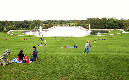 Forest Park | Art Hill | Grand Basin | St Louis