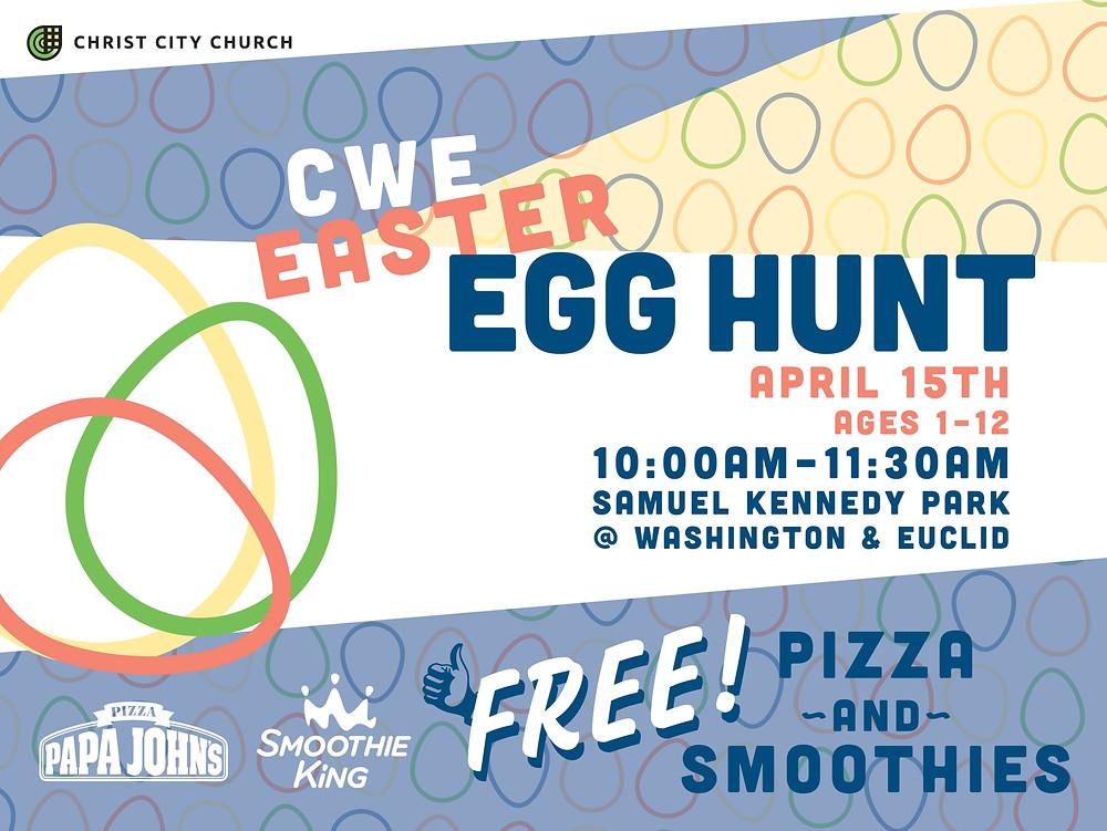 2017 CWE Easter Egg Hunt
