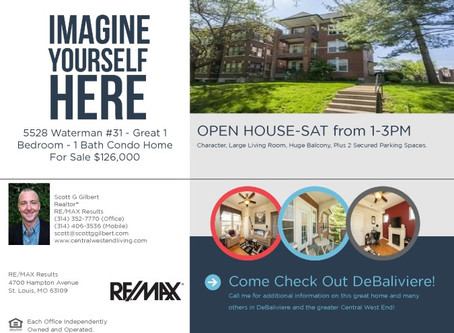 OPEN HOUSE - DeBaliviere - Sat the 28th