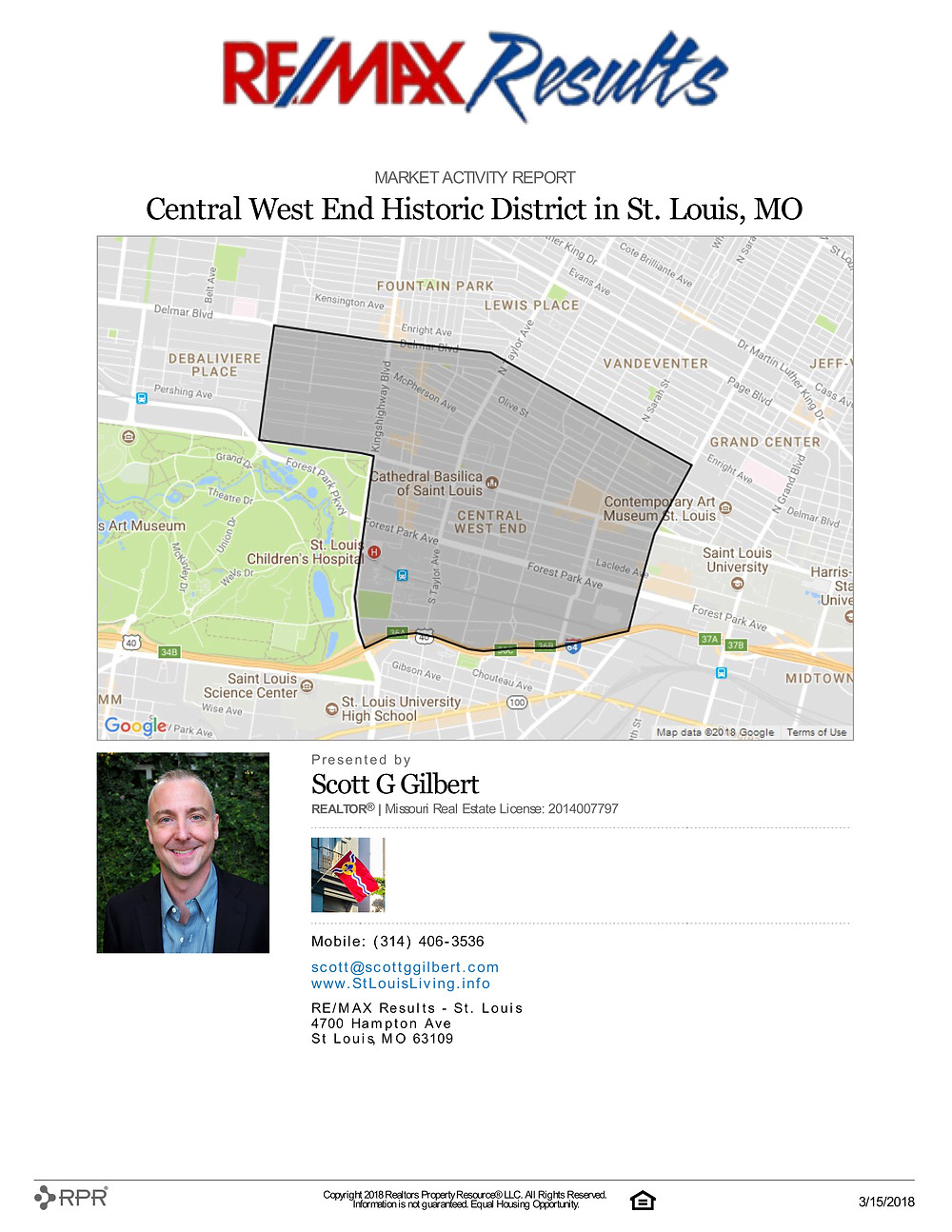 Central West End Market Activity Report | www.CentralWestEndLiving.com