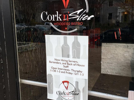 Cork n' Slice to Open Soon