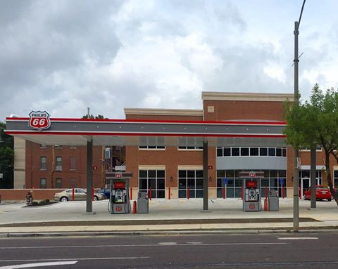 Updated Gas Station & Car Wash in the Central West End - Lindell & Boyle