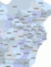 Zip Code Map | St Louis | Central Corridor