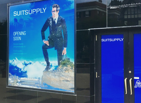 SUITSUPPLY Coming to CWE!