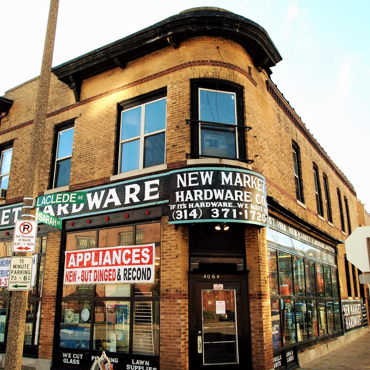 New Market Hardware -Sarah & Laclede 63108