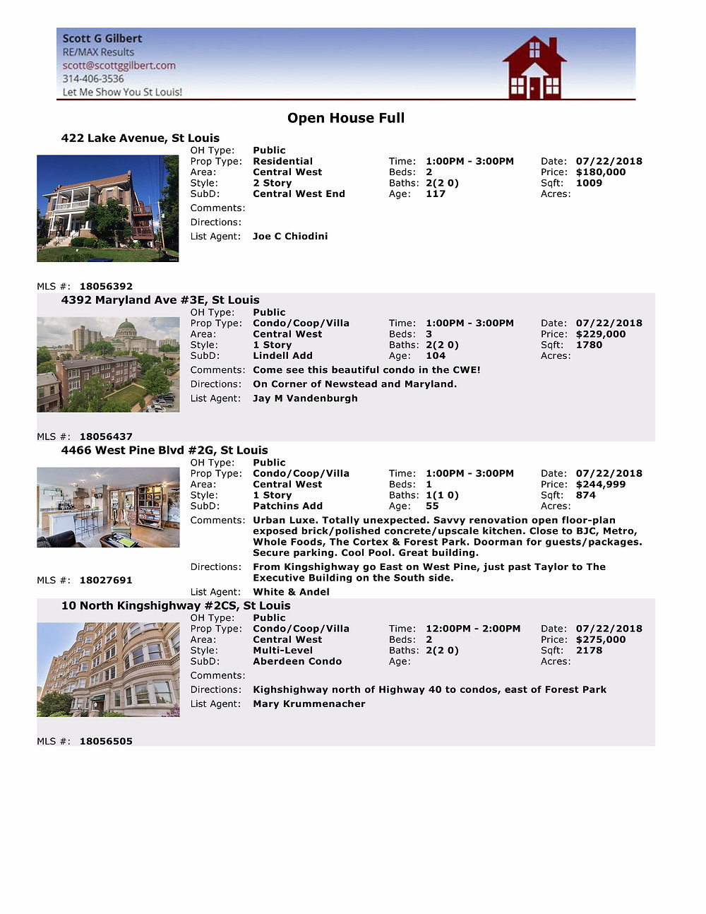 Central West End Living | Open Houses