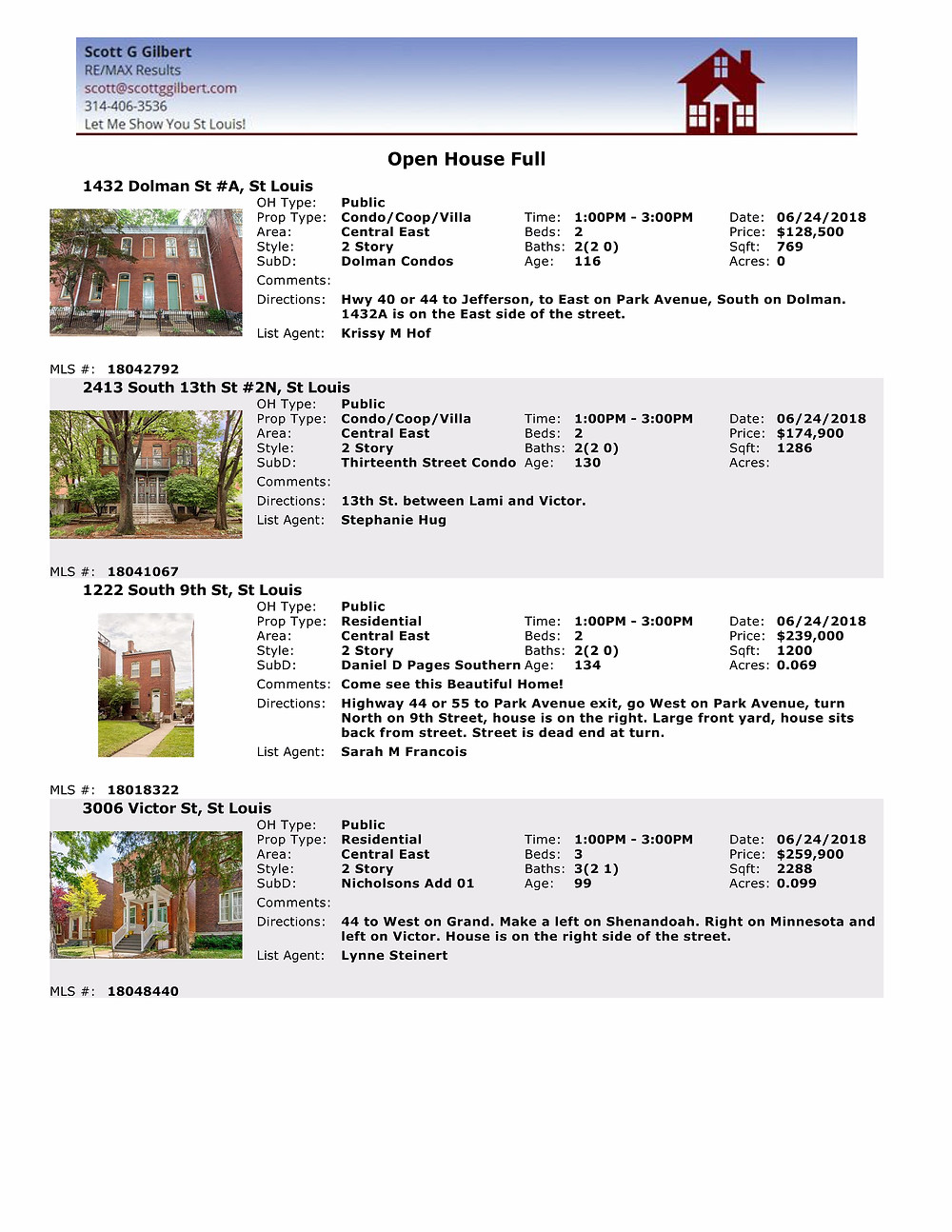 St Louis Open Houses | Benton Park