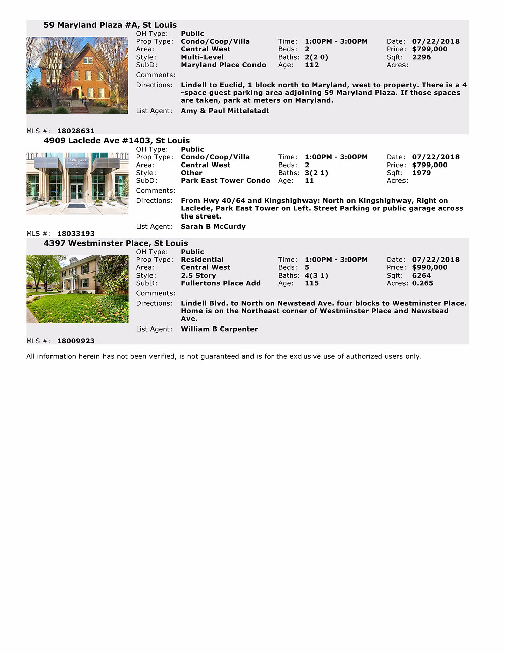 CWE Living | Open Houses