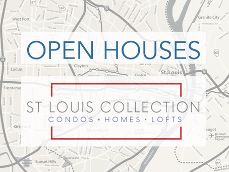 Open Houses | Benton Park Area | 6/9/19