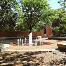 DeBaliviere Fountain at Pershing - Clara