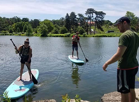 Paddle Boarding Now in Forest Park!