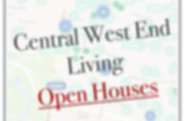 Central West End Weekly Open Houses