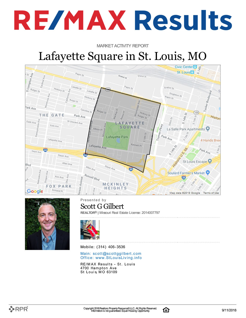 Lafayette Square Market Activity Report
