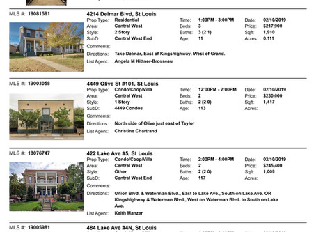 CWE Open Houses | Sunday, Feb 10th