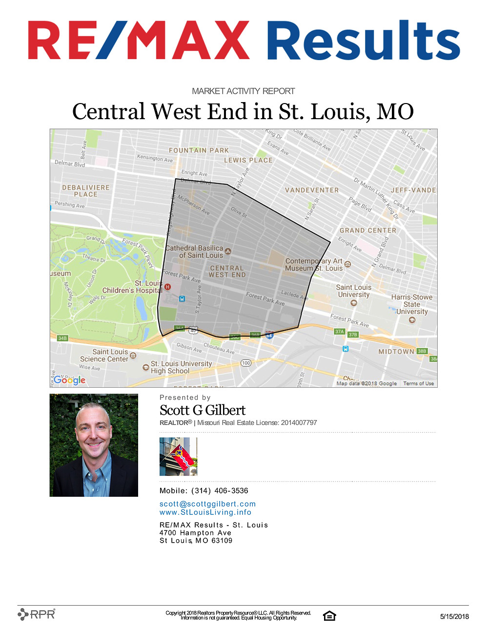 Central West End Market Activity Report