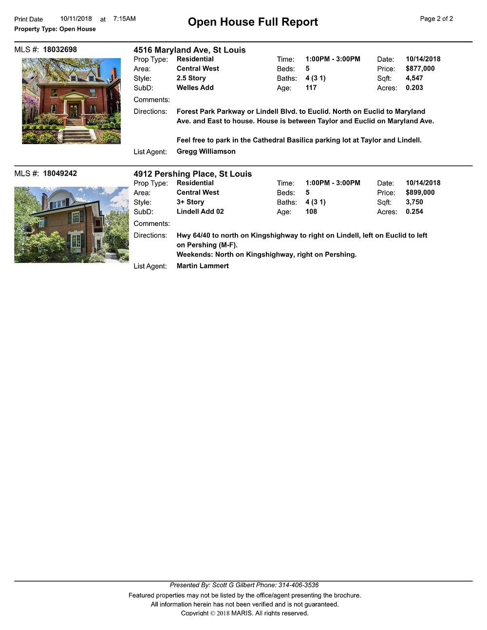 Central West End Open Houses | Best Realtor