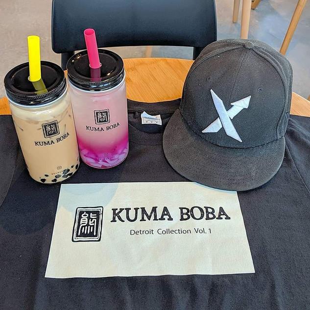 Kuma Boba Bubble Tea Black Tee Sterling
