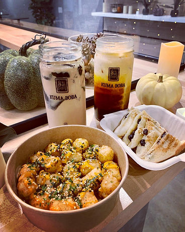 Boba Toast Bubble Tea Thai Spicy Tots St