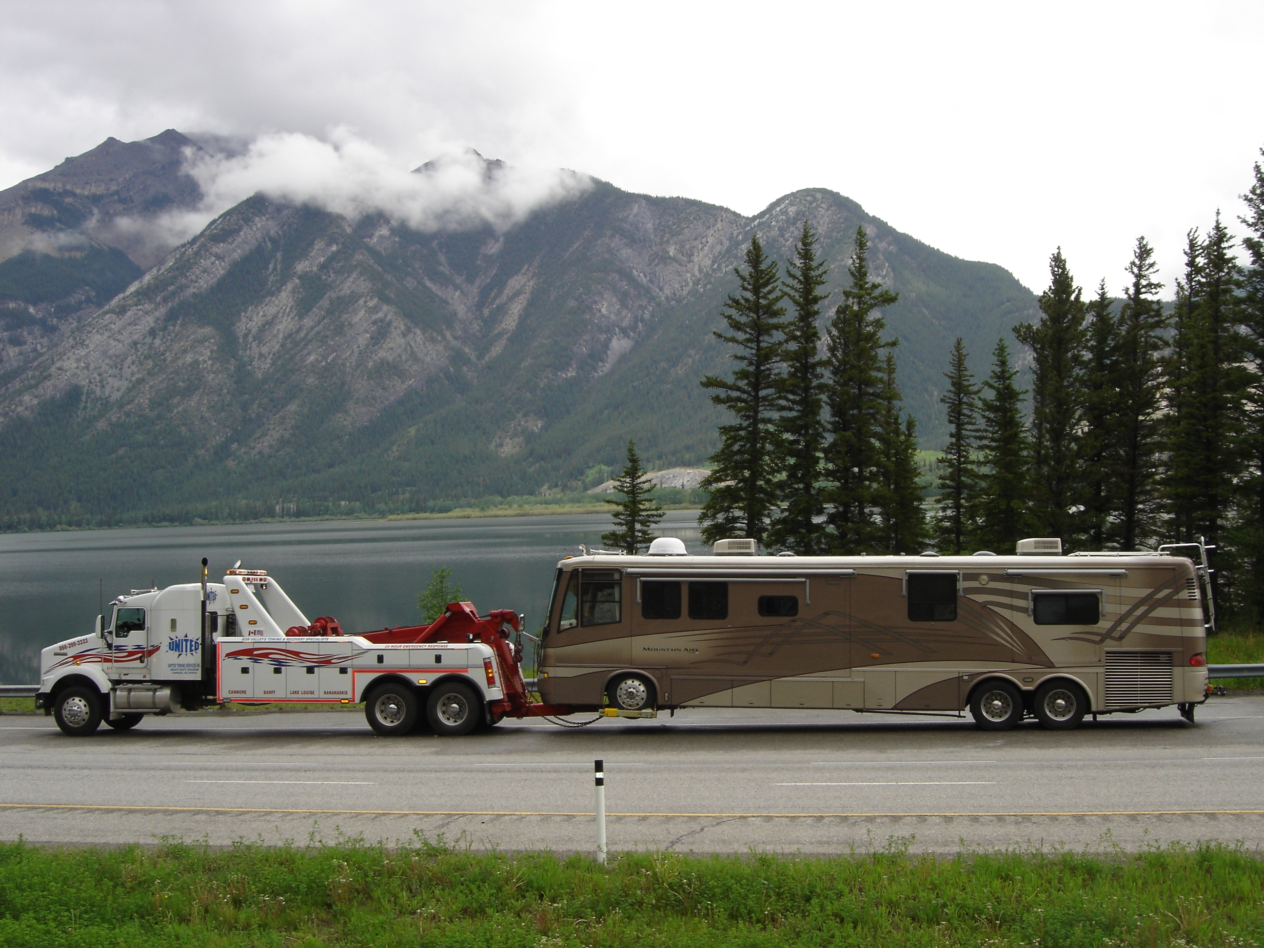 MOTOR COACH TOWING