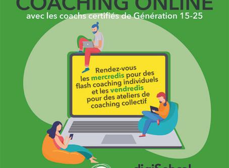 Avril 2020,c'est Coaching Solidaire!