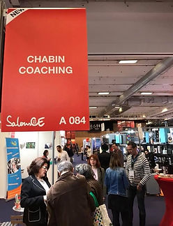 Salon CE stand CHABIN COACHING Paris-Berlin