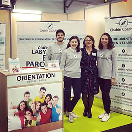 CHABIN COACHING stand salon de L'Etudiant- Paris-Berlin