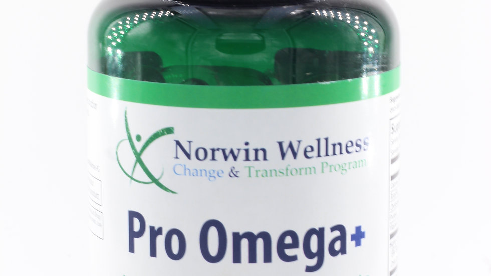 Pro Omega+ : Excellent Source of EPA & DHA