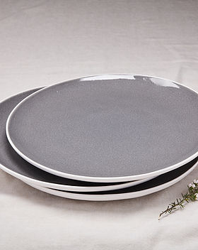Source Kitchen -Sharing Stone Grey Platter Multi
