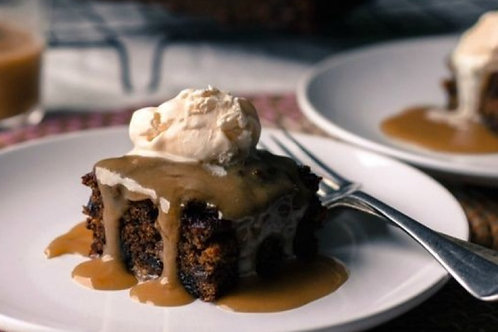 Classic Sticky Date Pudding & Ginger Cream