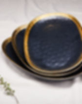 Source Kitchen Black and Gold