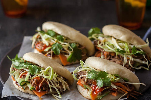 Free Range Pork Bao Bun Heat & Eat Package