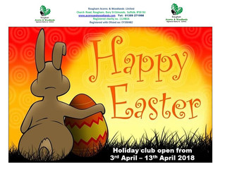 Easter Holiday Club 3rd April - 13th April 2018