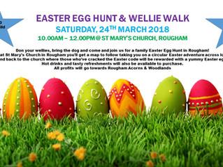 Easter Egg Hunt & Walk : 24th March 2018