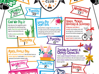Easter Holiday Club : 29th March - 9th April 2021