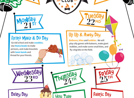October Half Term Holiday Club