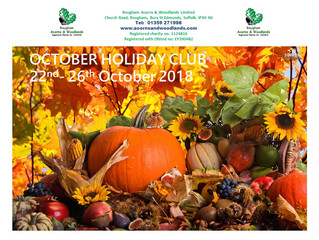 October Holiday Club