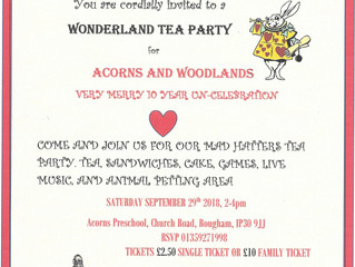 You are invited to a very important tea party......