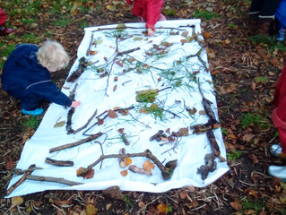 Today at Forest School …..