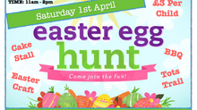 EASTER EGG HUNT : SATURDAY, 1ST APRIL 2017