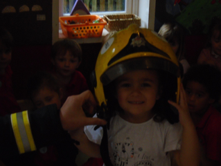 A Fireman in the building...