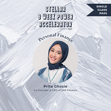 Bonus Class with Prita Ghozie - Stellar Power Accelerator