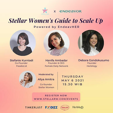 Stellar Women's Guide to Scale Up