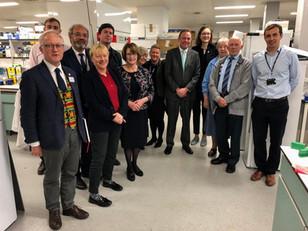 MPs visit Liverpool School of Tropical Medicine