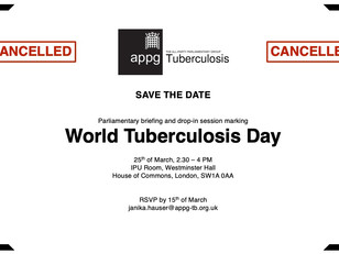 World TB Day 2020 - Briefing Cancelled